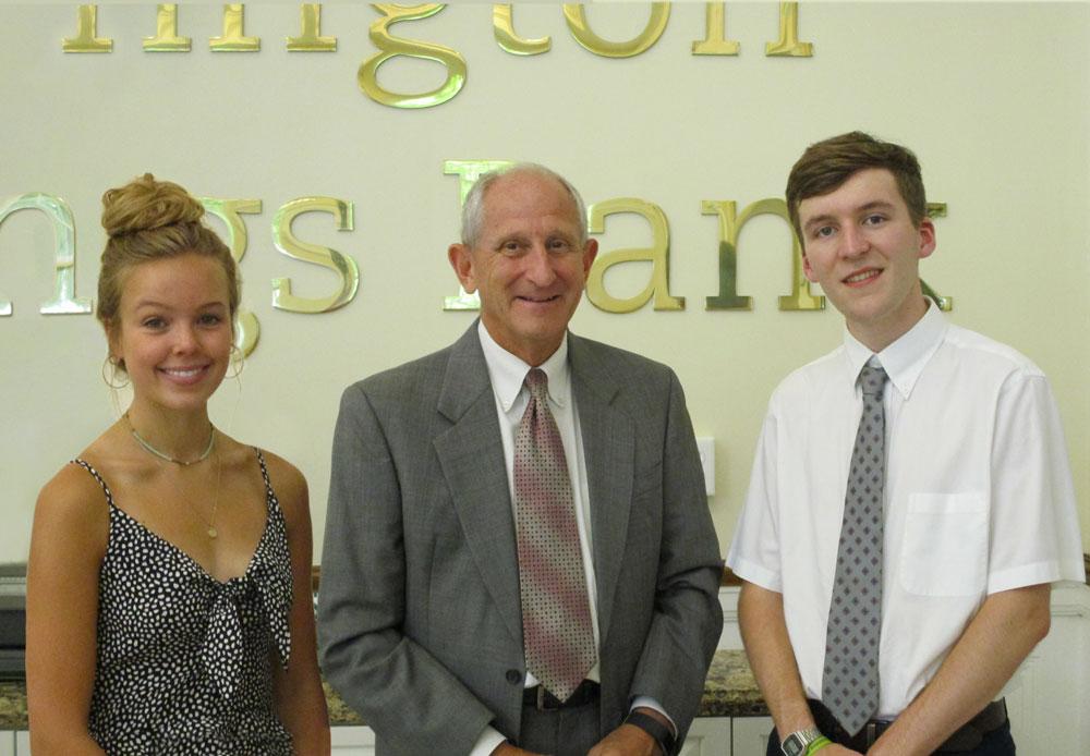 Brierley Lloyd, John E. Janco, President & CEO, and Adam Ferrarotti
