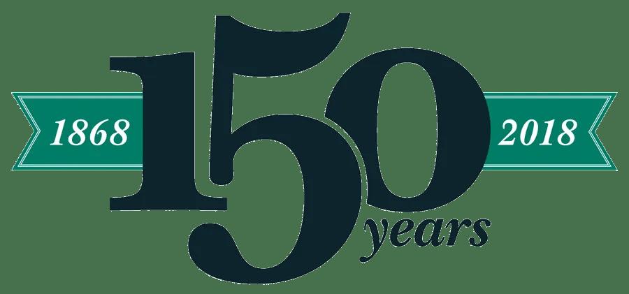 1868-2018 150 Years