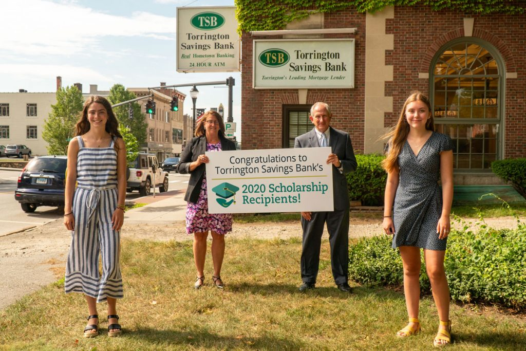 TSB CEO & President Award 2020 Scholarship to two local high school students